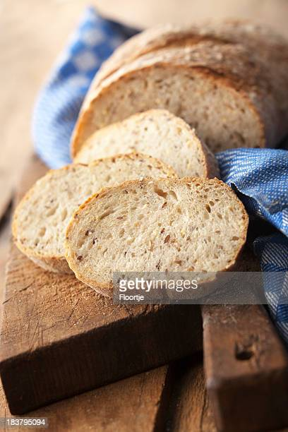 Bread: Bread on Cutting Board Still Life