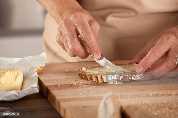 Brot butter-Brett