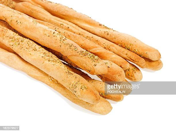 Bread grissini sticks