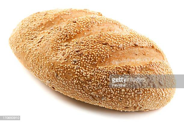 Bread - isolated on white