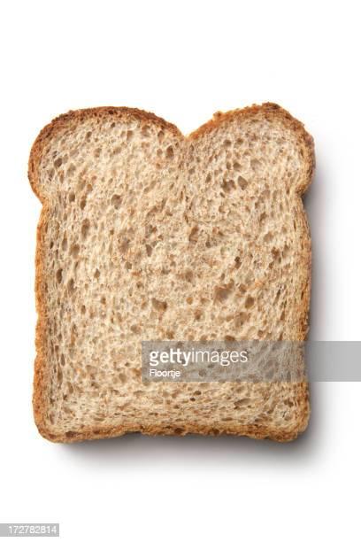 Pains: Tranche de pain brun
