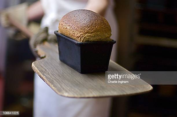 Bread straight from the oven