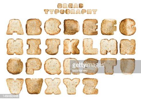 Bread typography