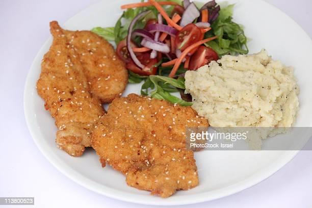 Breaded Breast of Chicken
