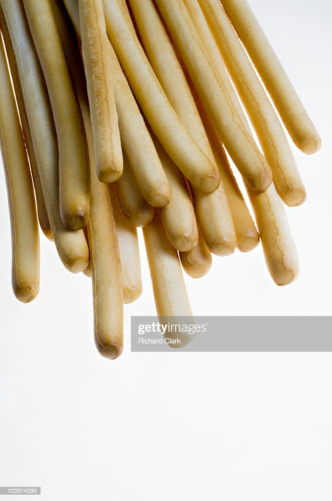 Breadsticks (Grissini) : Stock Photo
