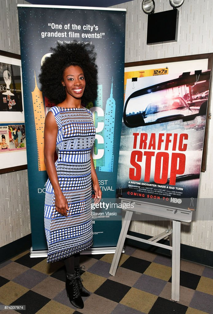 Breaion King, the subject of documentary attends DOC NYC Premiere of the HBO documentary film 'Traffic Stop' at IFC Center on November 14, 2017 in New York City.