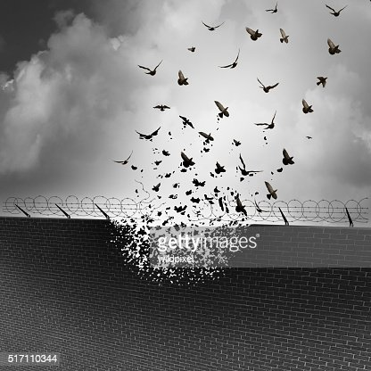 Break Down Walls : Stock Photo
