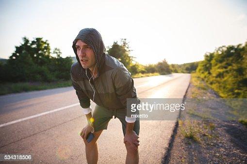 Break of running