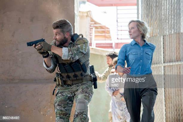 THE BRAVE 'Break Out' Episode 104 Pictured Mike Vogel as Captain Adam Dalton Anne Heche as Patricia Campbell