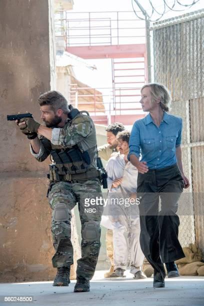 THE BRAVE 'Break Out' Episode 104 Pictured Mike Vogel as Captain Adam Dalton Noah Mills as Sergeant Joseph 'McG' McGuire Anne Heche as Patricia...
