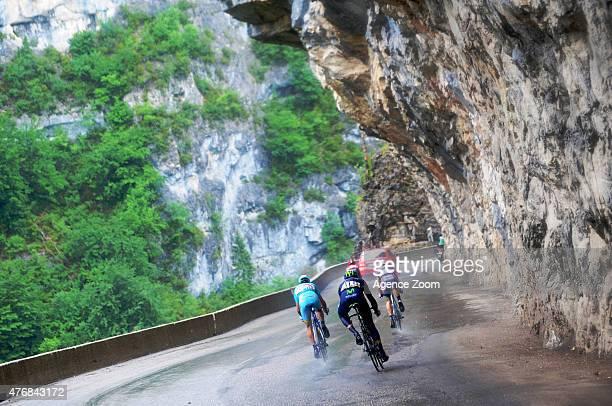 Breakaway during Stage Six of the Criterium du Dauphine on June 12 2015 in Saint Bonnet en Champsaur France