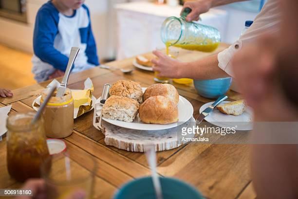 Pains de petit déjeuner