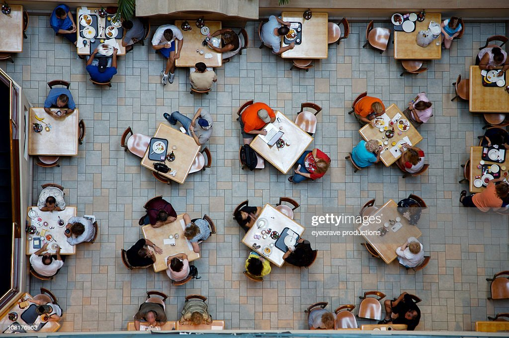 breakfast dining view : Stock Photo