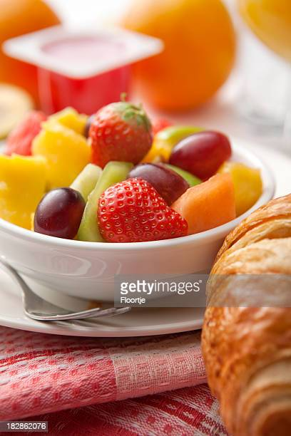 Breakfast: Fruit Salad Still Life