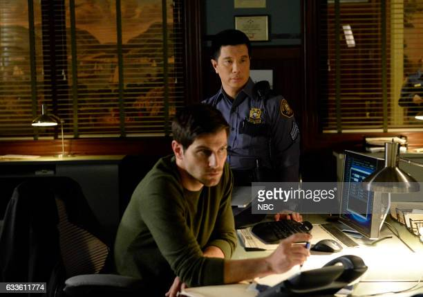 GRIMM 'Breakfast in Bed' Episode 606 Pictured David Giuntoli as Nick Burkhardt Reggie Lee as Sergeant Wu