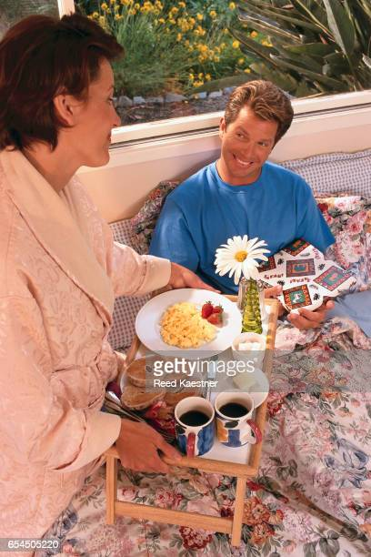 Breakfast in Bed for Father's Day