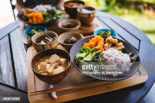 Breakfast in Okinawa : Stock Photo
