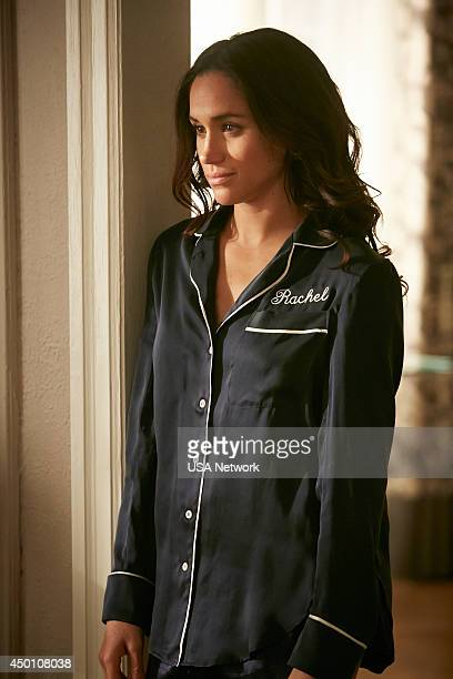 SUITS 'Breakfast Lunch and Dinner' Episode 402 Pictured Meghan Markle as Rachel Zane
