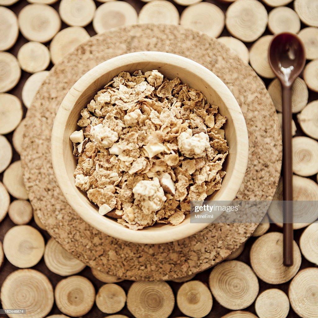 Breakfast Muesli : Stock Photo