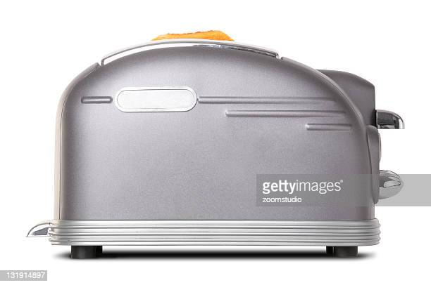Breakfast retro toaster [with clipping path]