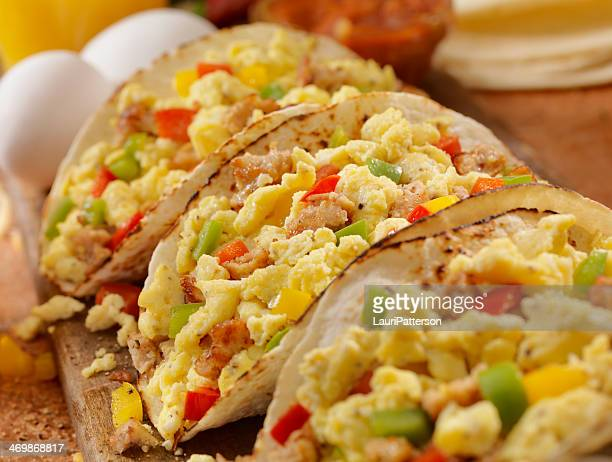 Tacos de petit déjeuner