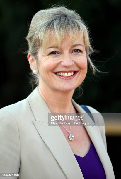 BBC Breakfast Weather Presenter Carol Kirkwood smiles as she arrives at West Newton Village Hall in Norfolk where she is the guest speaker at the...