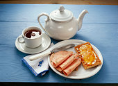 Breakfast with Cold Cuts and Crackers; Tea