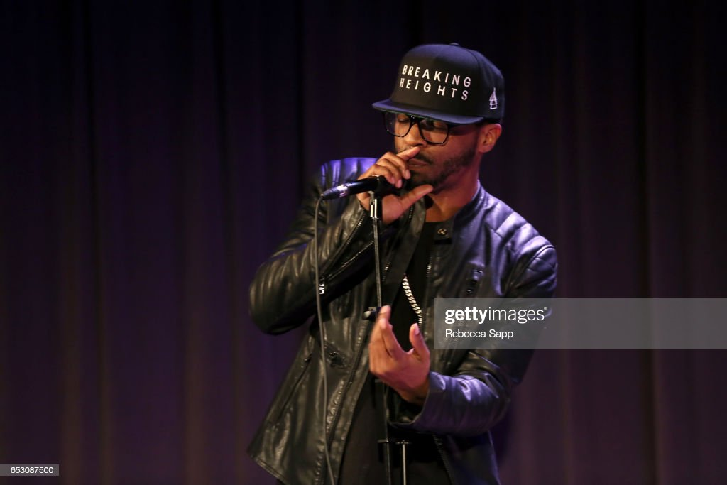 Breaking Heights performs at The Man Behind 'Sun Records' A Conversation On The Creation of CMT's New Series Featuring Leslie Greif And Jonathan McHugh at The GRAMMY Museum on March 13, 2017 in Los Angeles, California.