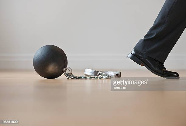 breaking out of ball and chain