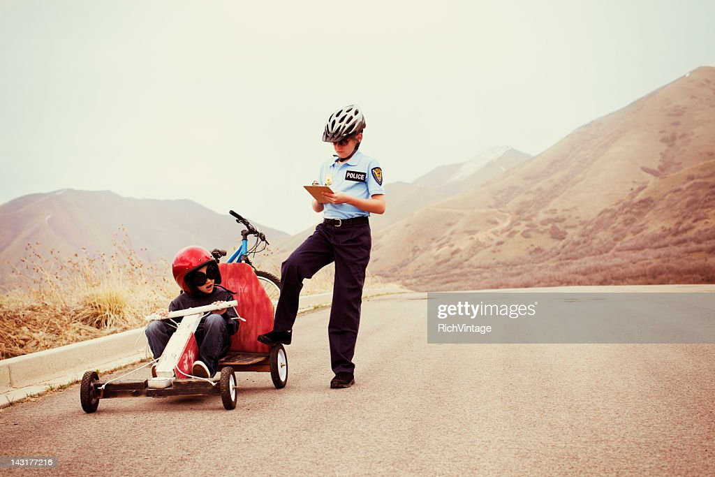 Breaking the Law : Stock Photo