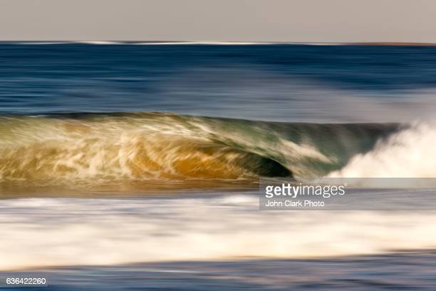 Breaking wave panning