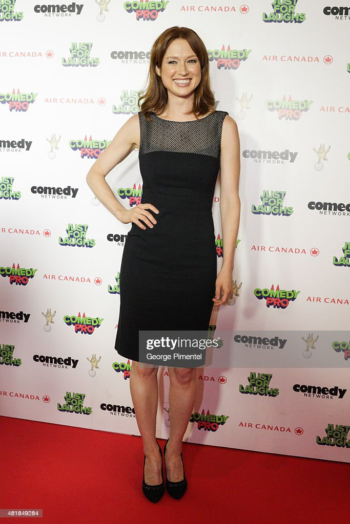 Breakout Comedy star of the year <a gi-track='captionPersonalityLinkClicked' href=/galleries/search?phrase=Ellie+Kemper&family=editorial&specificpeople=6123842 ng-click='$event.stopPropagation()'>Ellie Kemper</a> attends Just For Laughs Festival comedy awards night at The Hyatt Regency in Montreal on July 24, 2015 in Montreal, Canada.