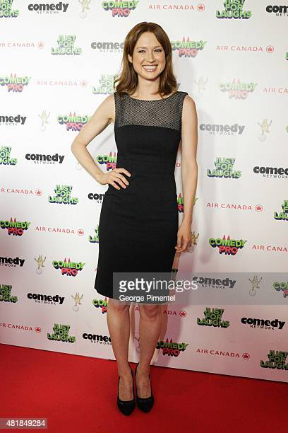 Breakout Comedy star of the year Ellie Kemper attends Just For Laughs Festival comedy awards night at The Hyatt Regency in Montreal on July 24 2015...