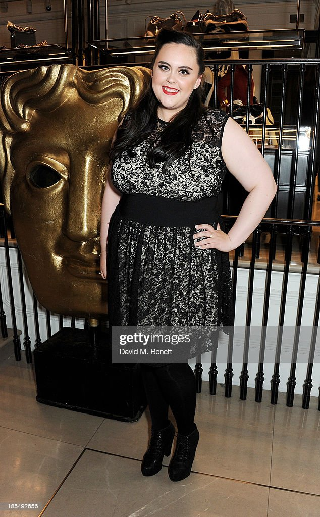 Breakthrough Brith Sharon Rooney attends the BAFTA 'Breakthrough Brits' event at Burberry 121 Regent Street, London on October 21, 2013 in London, United Kingdom.