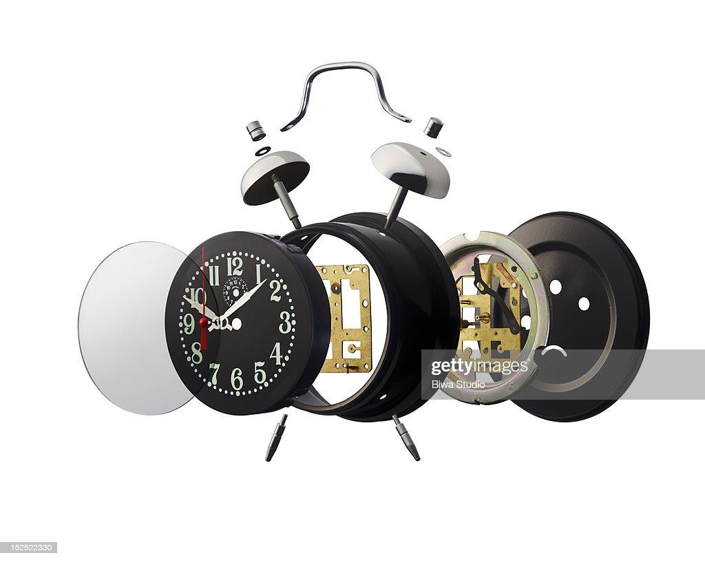 Break-up alarm clock : Stock Photo