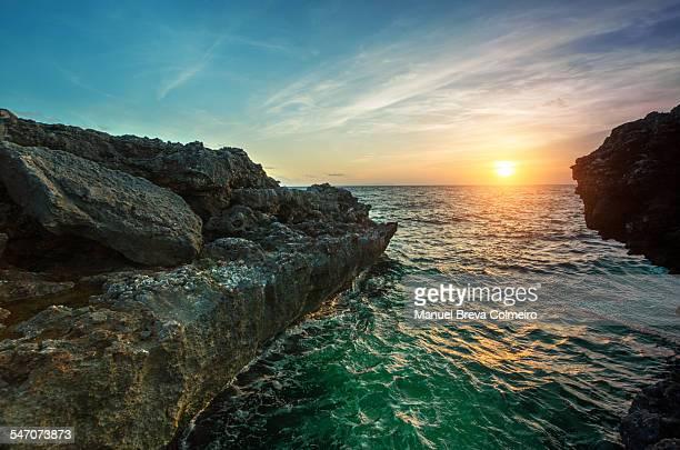 Breakwater in the Mediterranean Sea