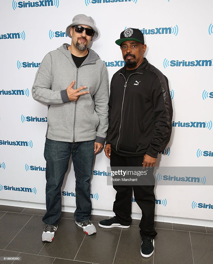 B-Real and Sen Dog of Cypress Hill visits at SiriusXM Studio on October 28, 2016 in New York City.