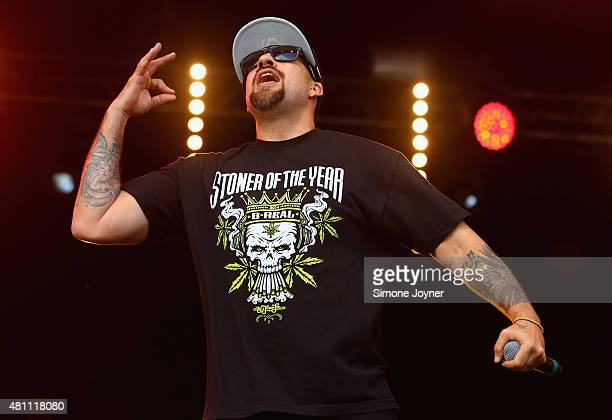 Real of Cypress Hill performs live on the Main Stage during day one of Lovebox Festival 2015 at Victoria Park on July 17 2015 in London England