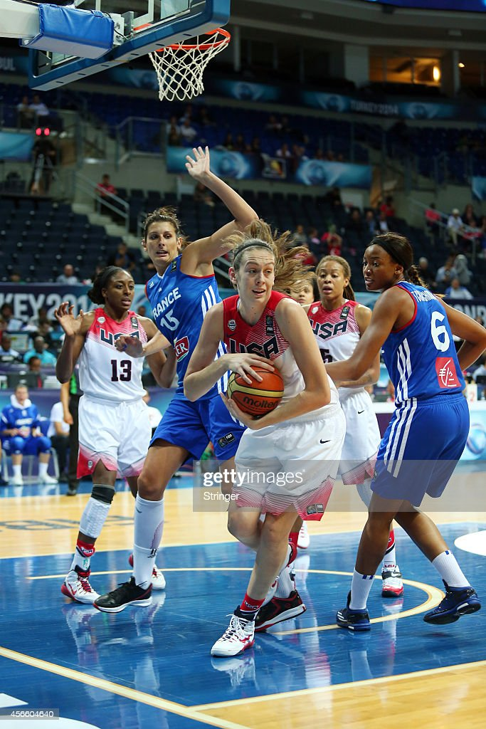 <a gi-track='captionPersonalityLinkClicked' href=/galleries/search?phrase=Breanna+Stewart&family=editorial&specificpeople=8564806 ng-click='$event.stopPropagation()'>Breanna Stewart</a> of USA hides the ball during the 2014 FIBA Women's World Championship quarter-final basketball match between USA vs France at Fenerbahce Ulker Sports Arena in Istanbul, Turkey on October 3, 2014.