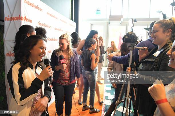 Breanna Yde attends Nickelodeon's Sizzling Summer Camp Special Event on May 15 2017 in Burbank California