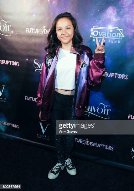 Breanna Yde attends the 'Future Disruptors' Premiere at The Comedy Store on June 25 2017 in Los Angeles California