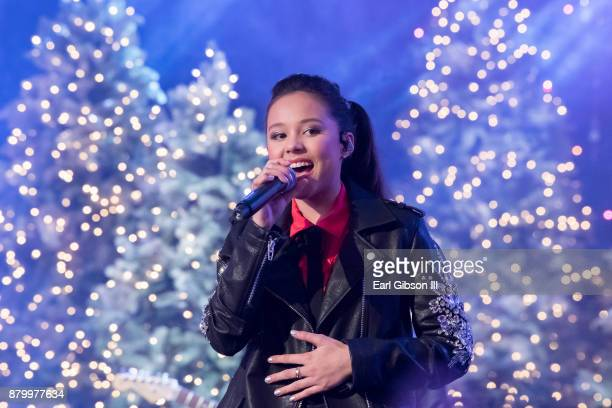 Breanna Yde performs at the 86th Annual Hollywood Christmas Parade on November 26 2017 in Hollywood California