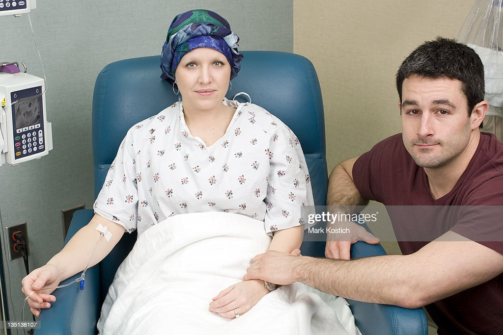 Breast Cancer Patient Receiving Chemotherapy