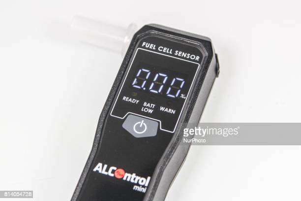 Breathalyzer is seen on 12 June 2017 in Gdansk Poland The police is stopping fewer drivers for drunk driving in Poland Still in 2010 142 thousand...