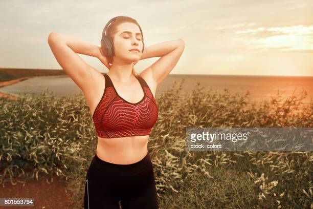 breathing the fresh air