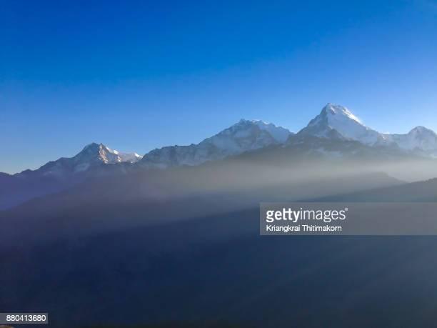 Breathtaking scenery on the Ghorepani Poon Hill trek in Nepal!