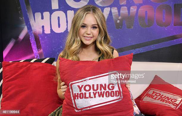 Brec Bassinger visits the Young Hollywood Studio on January 8 2015 in Los Angeles California