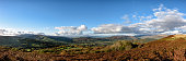 The Brecon Beacons in a wide Panorama / Banner format