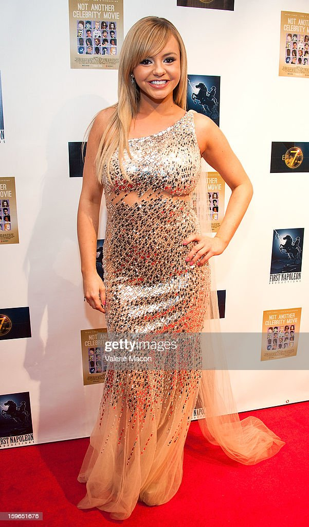 Bree Olson arrives at the s the Screening Of 'Not Another Celebrity Movie' at Pacific Design Center on January 17, 2013 in West Hollywood, California.