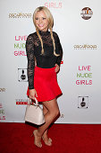 Bree Olson attends the 'Live Nude Girls' premiere at Avalon on August 12 2014 in Hollywood California